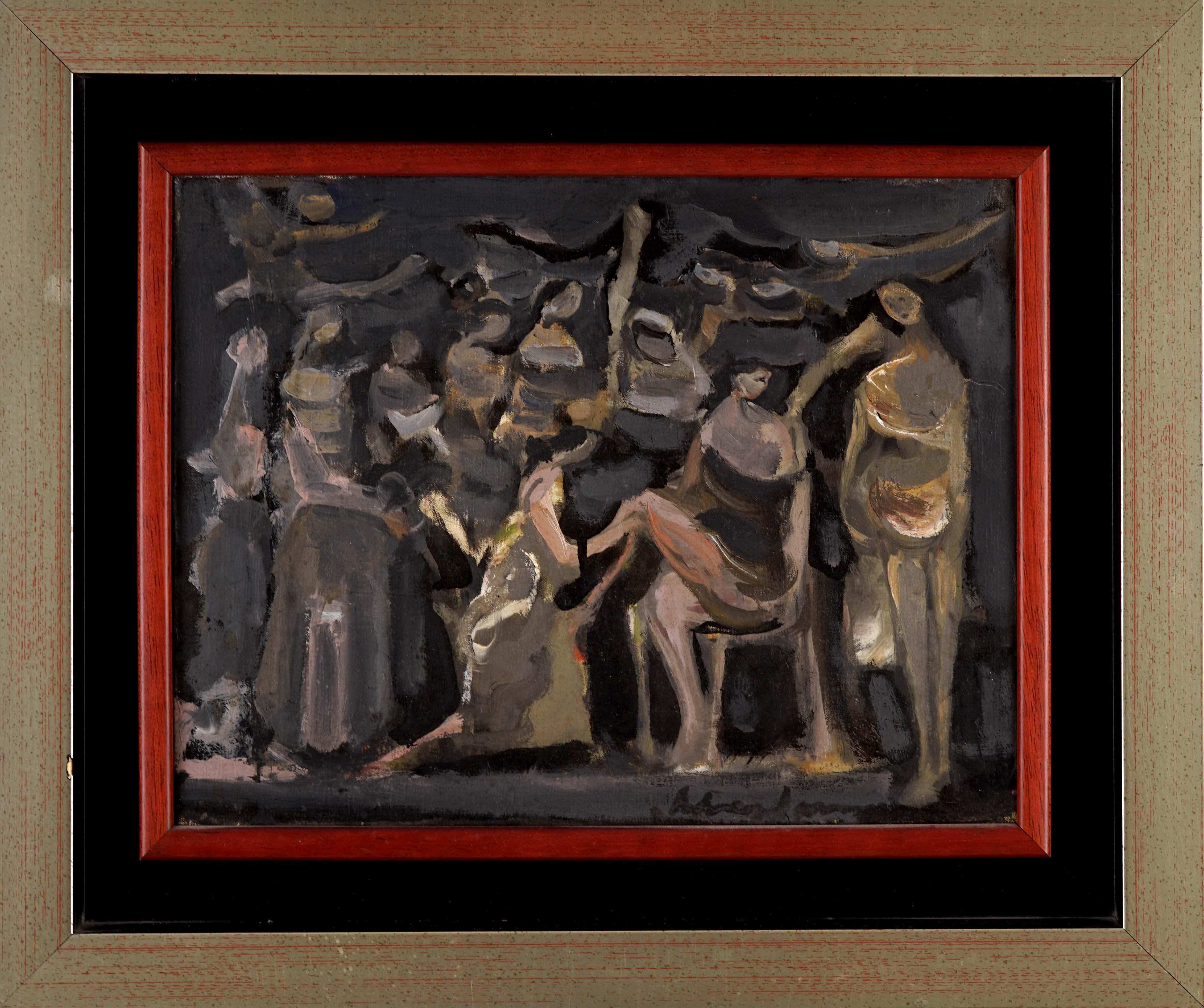 Kompozycja figuralna, 1953