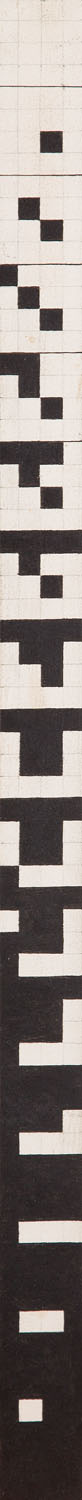 """""""Order Vertical Game 4 x 4"""", 1981"""