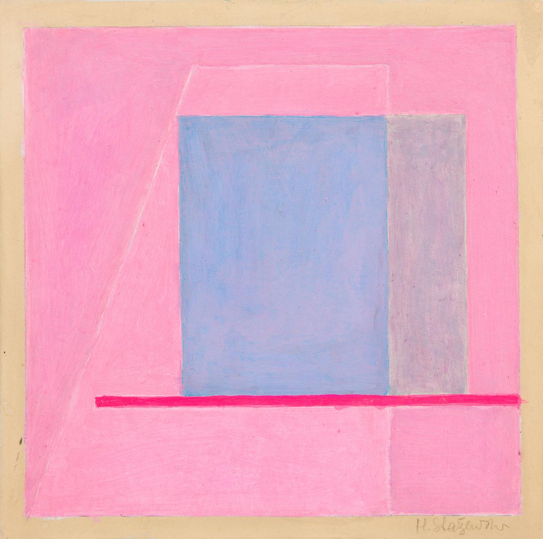 Szkic do kompozycji geometrycznej, około1983