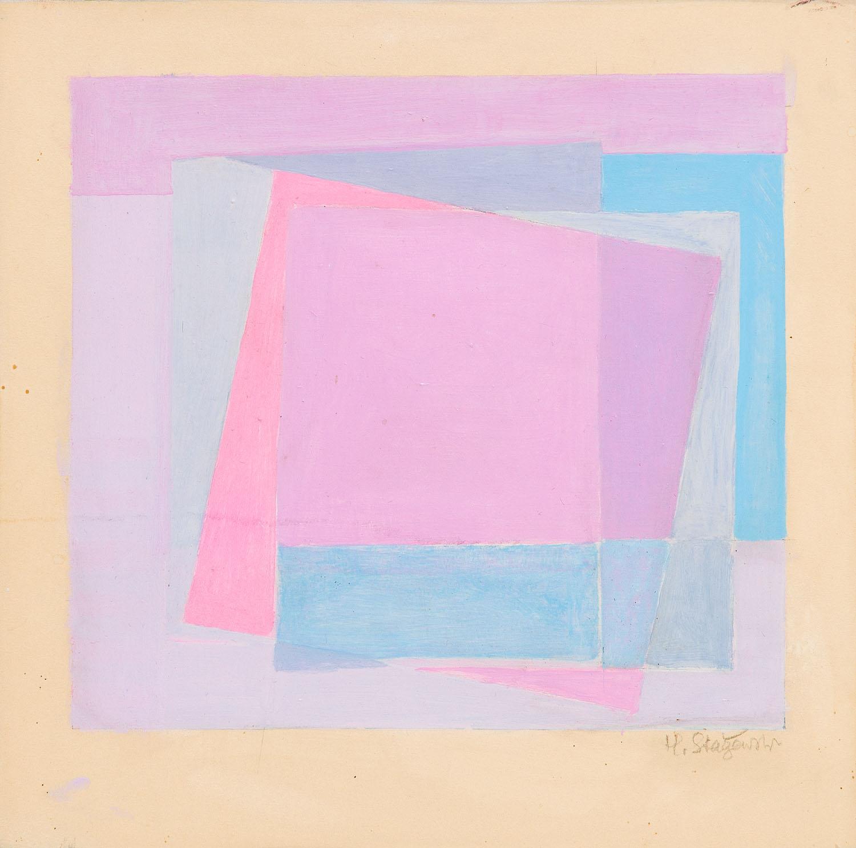 """Szkic do kompozycji """"Nr 95"""", 1973"""