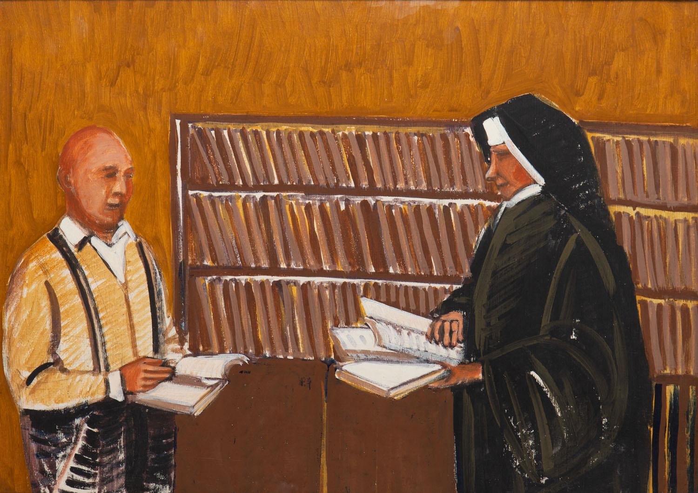 """""""Pomoc w wyborze lektury"""", z cyklu """"Caritas"""", 1998"""