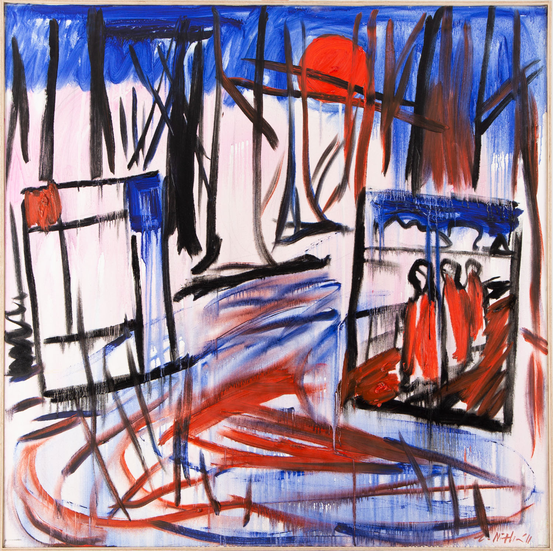 """Las, Munch, Mondrian"" , 2011"