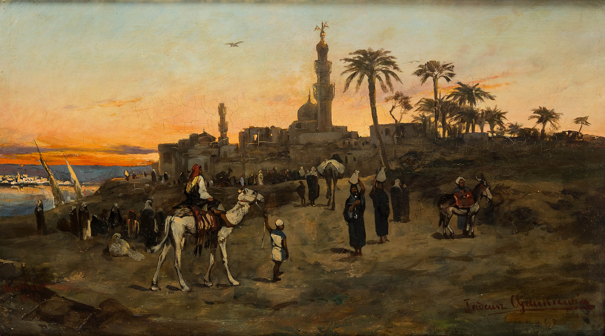 Scena orientalna, 1879 r.