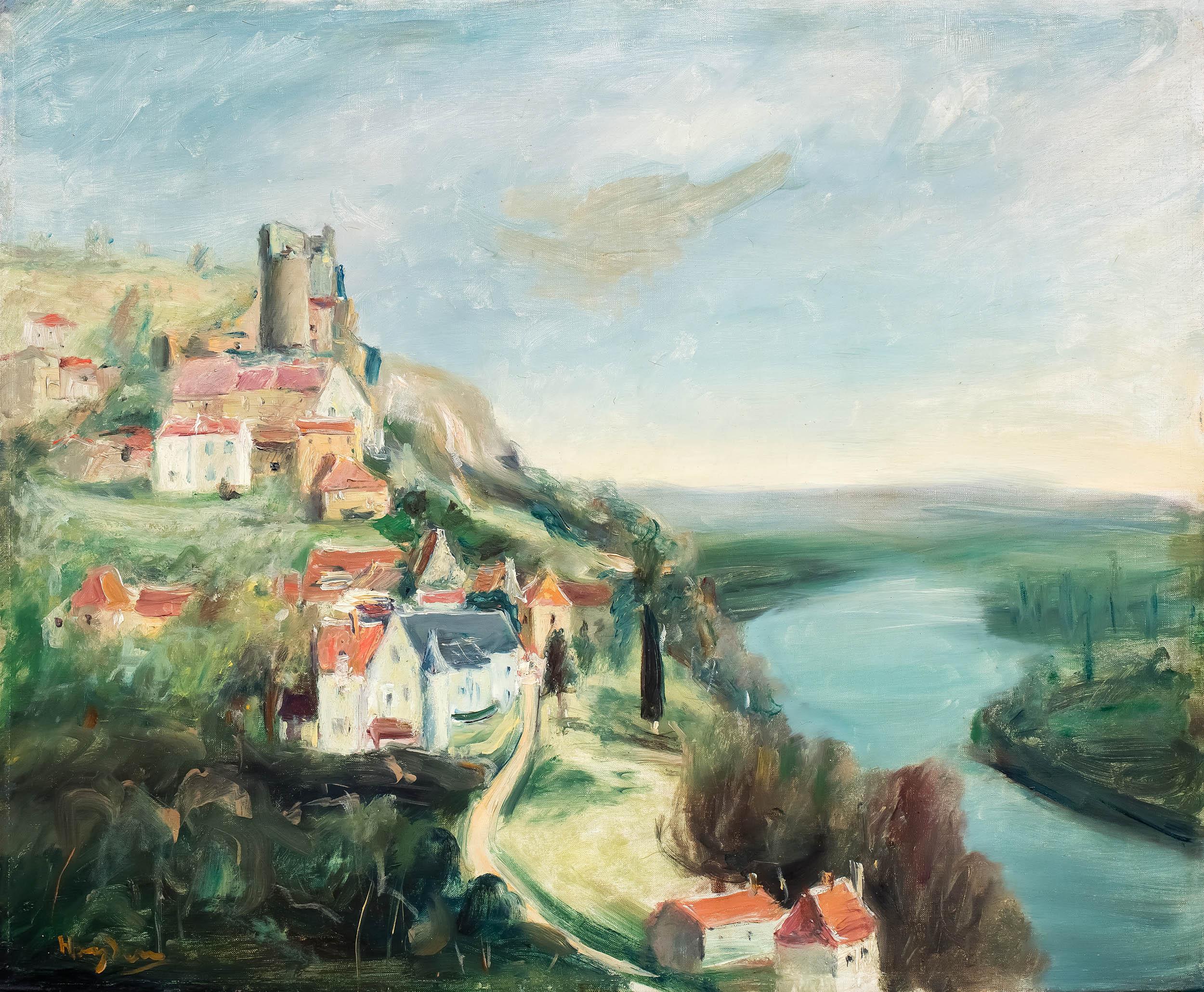 Zamek Castelnaud nad Dordonią, l. 30. XX w.