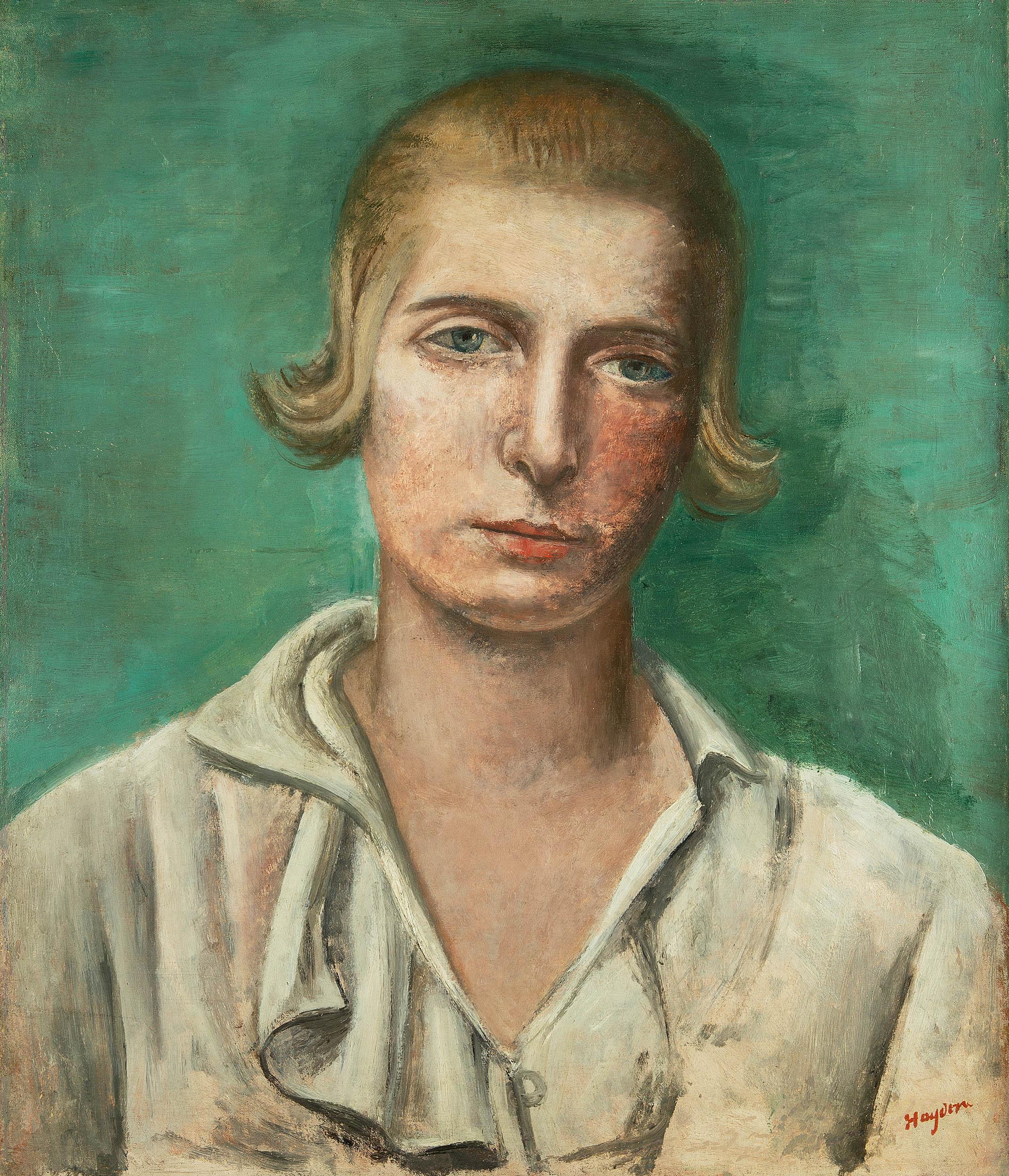 Portret Renee Hayden (pierwszej żony artysty), 1922 r.