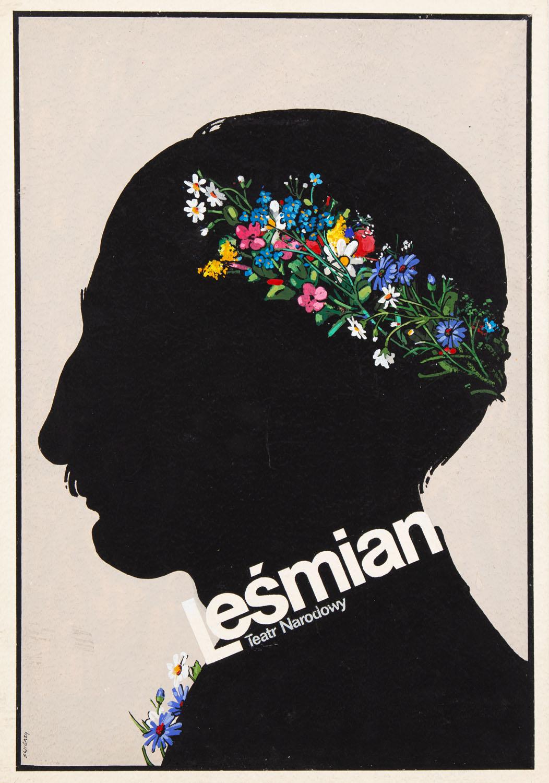 """Leśmian"" - projekt plakatu, 1982"