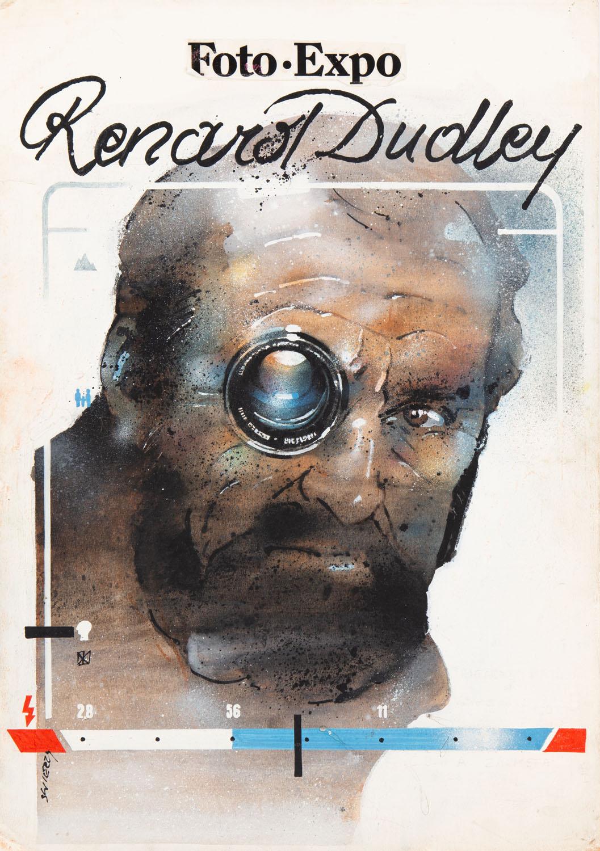 """Renard Dudley"" - projekt plakatu, 1977"