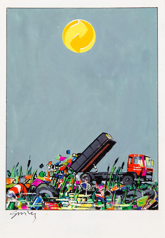 Projekt plakatu ekologicznego