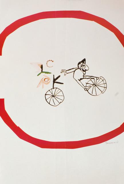 Klaun na rowerze, 1965