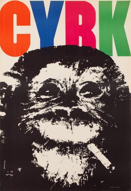 Małpa z papierosem, 1964