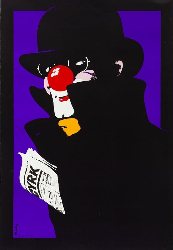 Klaun szpieg, 1975