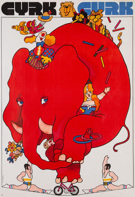 Czerwony słoń, 1979