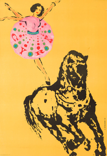 Akrobatka na koniu, 1966