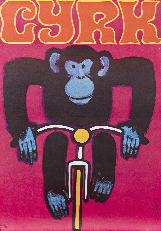 Małpa na rowerze, 1968/1980