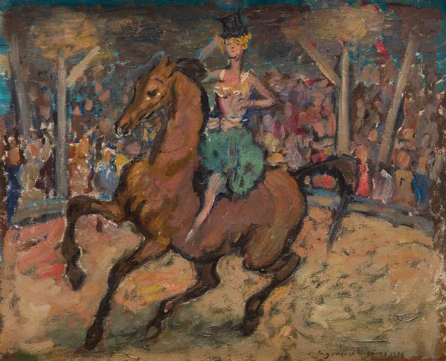 Tancerka na koniu, 1956