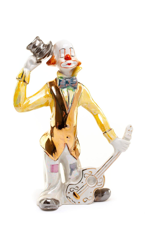 Figurka - Klaun z gitarą