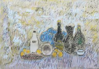 Martwa natura z wazonem, 1979 r.