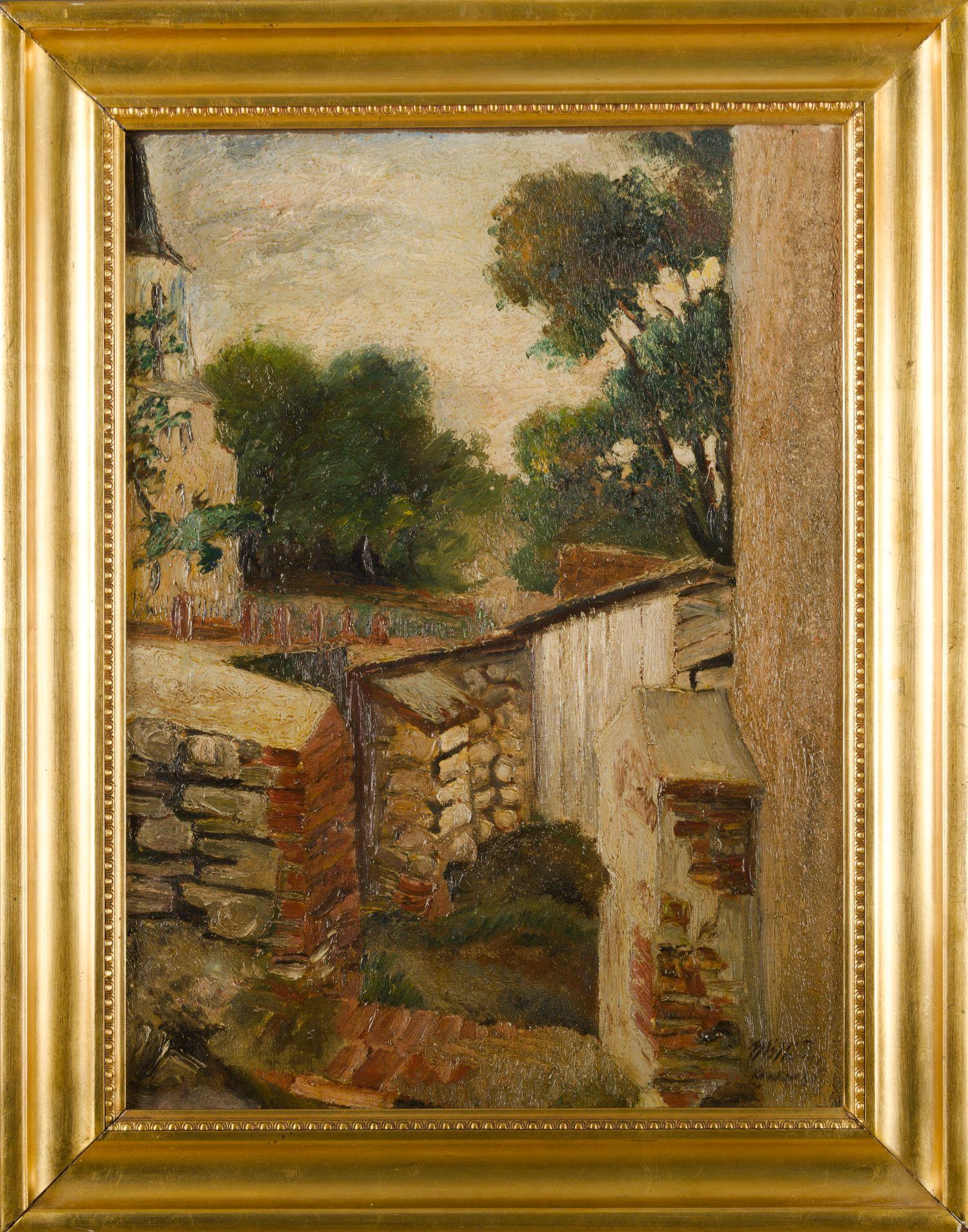 Stare mury, 1931