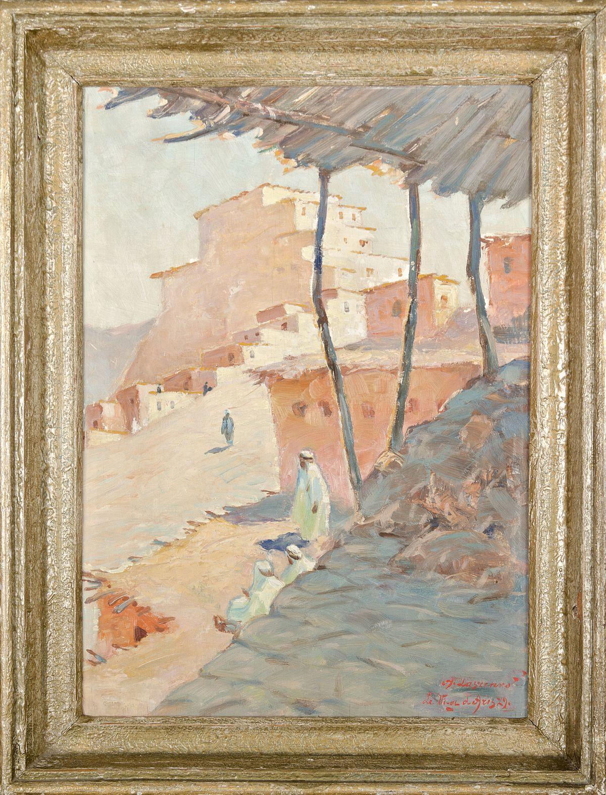 Arabskie miasto, 1929