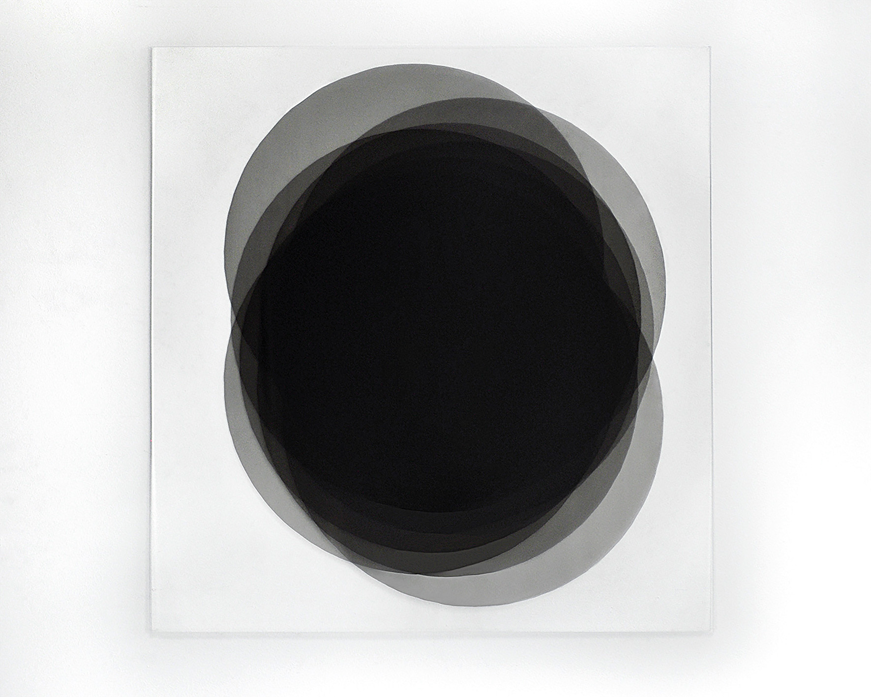 Fragmentation of the point VI, 2017