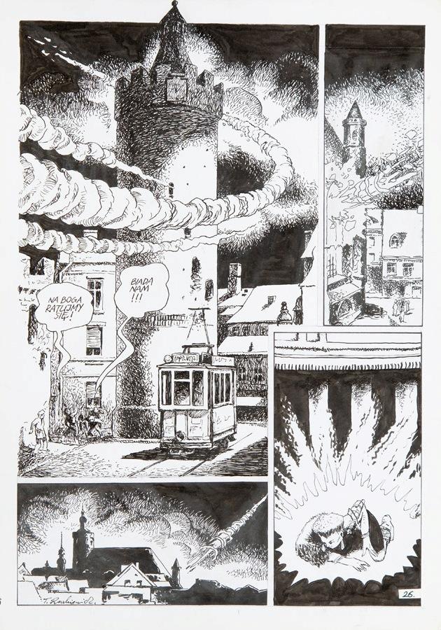 """""""Fara"""", Brama do gwiazd - plansza komiksowa nr 26, 2010"""