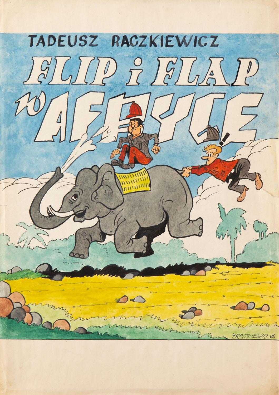 """""""Flip i Flap""""- projekt okładki, 1967-71"""