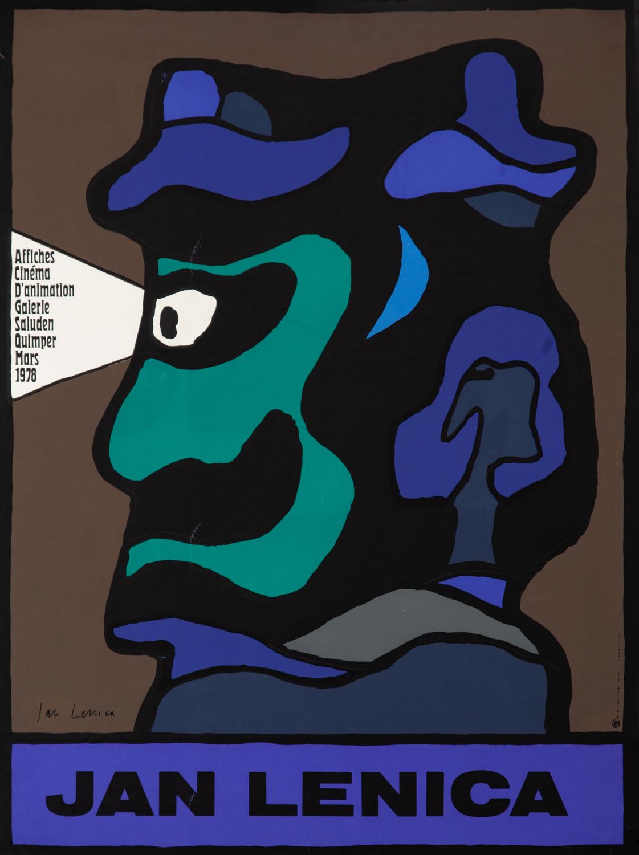 """Plakat wystawy plakatów filmów animowanych [""""Affiches Cinema d'animation""""], 1978"""