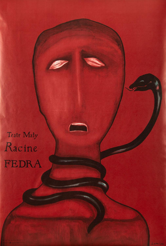 """Plakat do sztuki """"Fedra"""""""