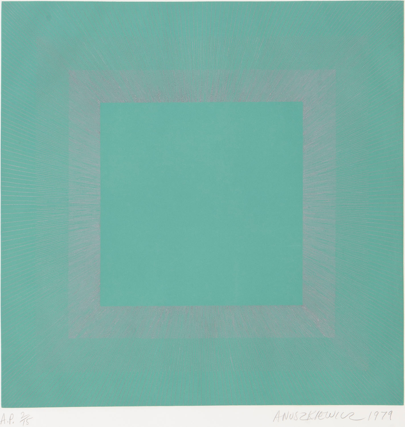 """Green With Silver"" z serii ""Winter Suite"", 1979"