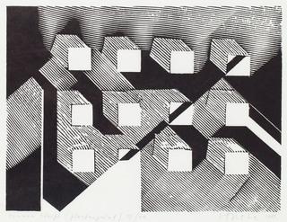 """Common Stripe"", 1984"