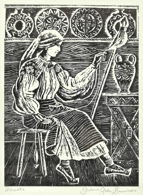 Prządka, 1935