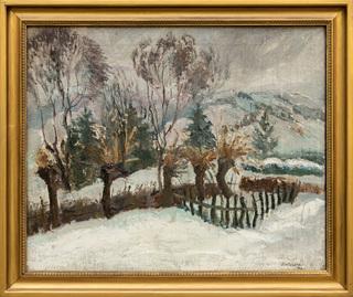Pejzaż zimowy, 1931