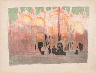 Kościół św. Marka w Wenecji, 1901