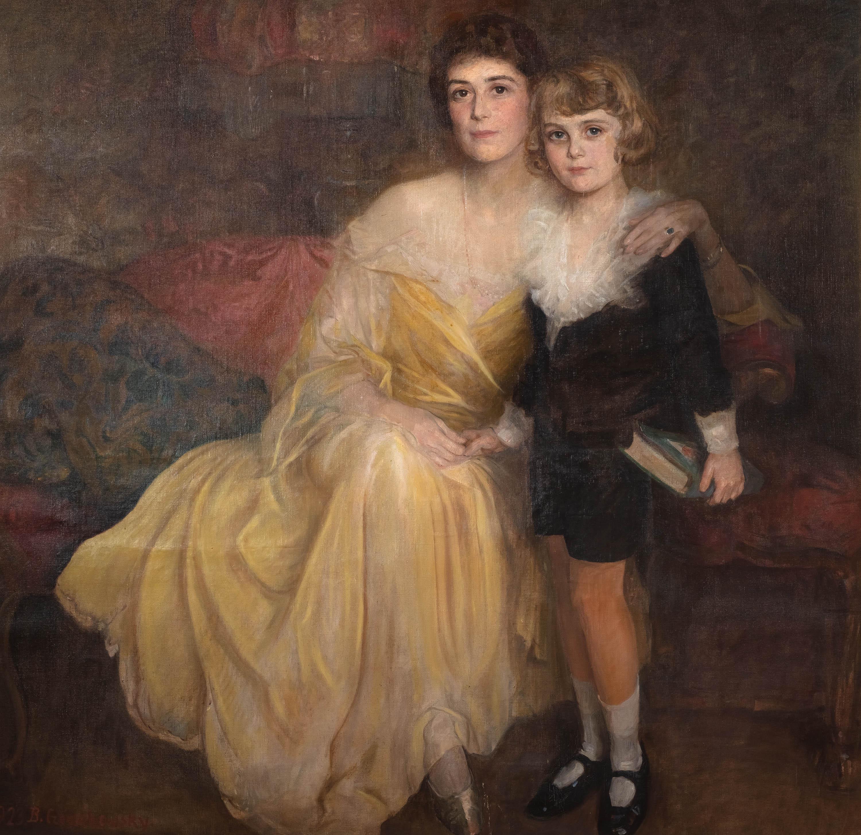 Matka z synem, 1923 r.