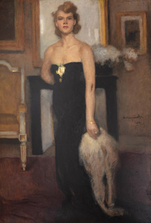 Portret Pani J., 1952 r.