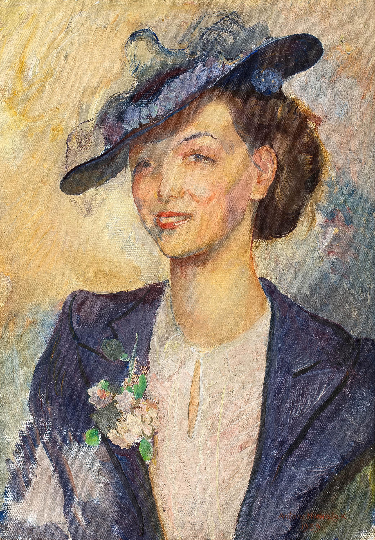 Portret kobiety, 1939 R.