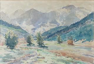 Widok z Tatarowa, 1937
