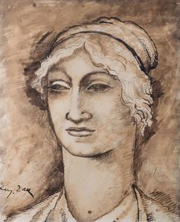 Głowa kobiety, ok. 1912