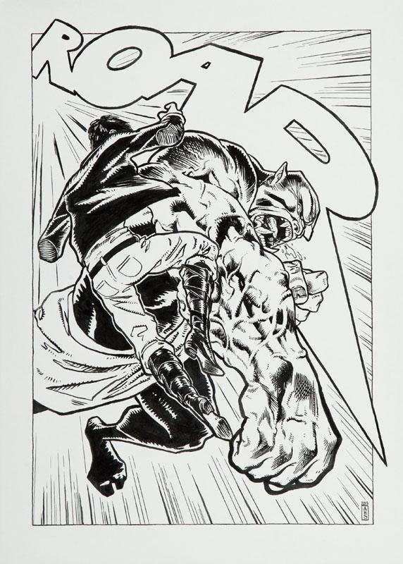 Roar, ilustracja komiksowa, 2013 r.