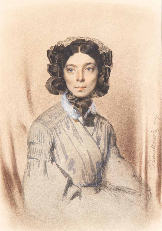 Portret Pani Sauvage, 1839