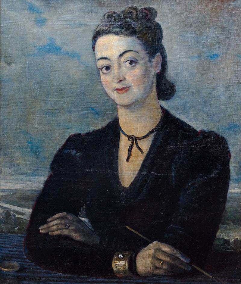 Portret Heleny Ostrowskiej-Maryańskiej, 1940 r.