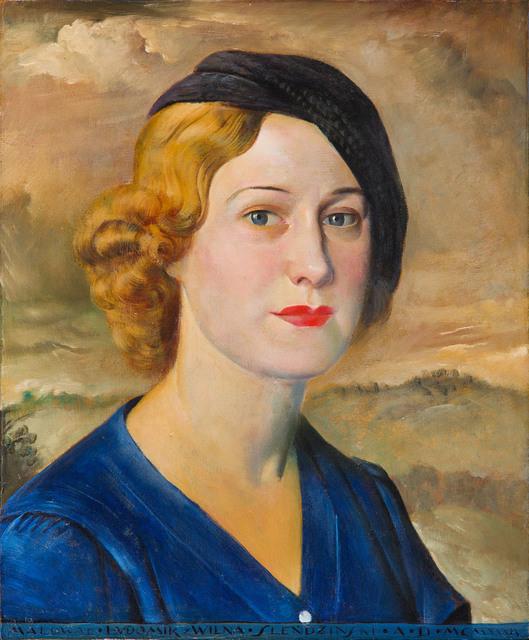 Portret Danuty Wyrwicz-Wichrowskiej, 1934