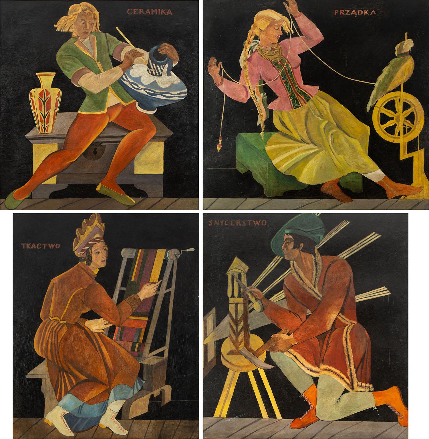 """Cykl """"Rzemiosło"""", 1929-30"""