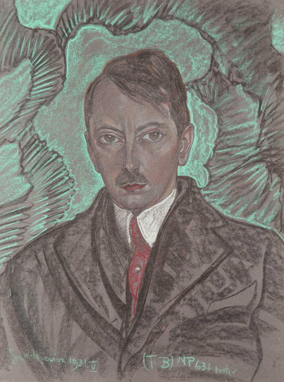 Portret Artura Schroedera (?), 1931