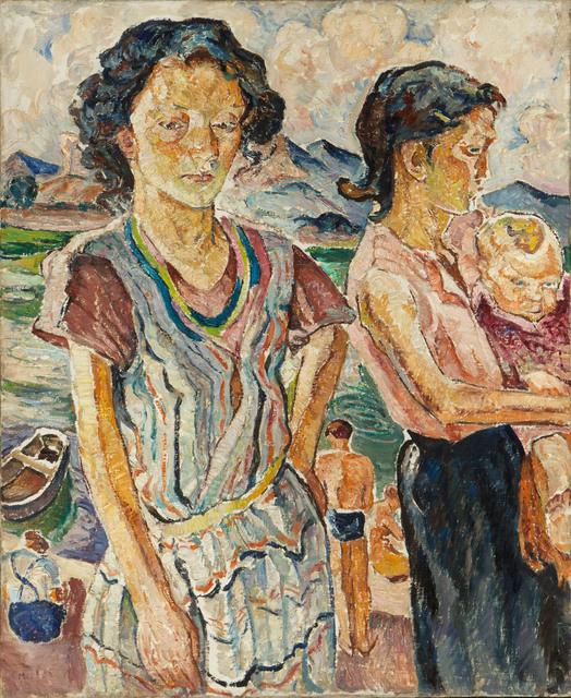 """Les Enfants"" (verso) / ""Collioure"" (recto), lata 20. XX w."