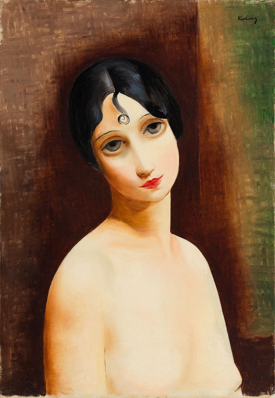 """""""Dziewczyna z lokami"""" (""""Jeune fille à la boucle""""), około1930"""