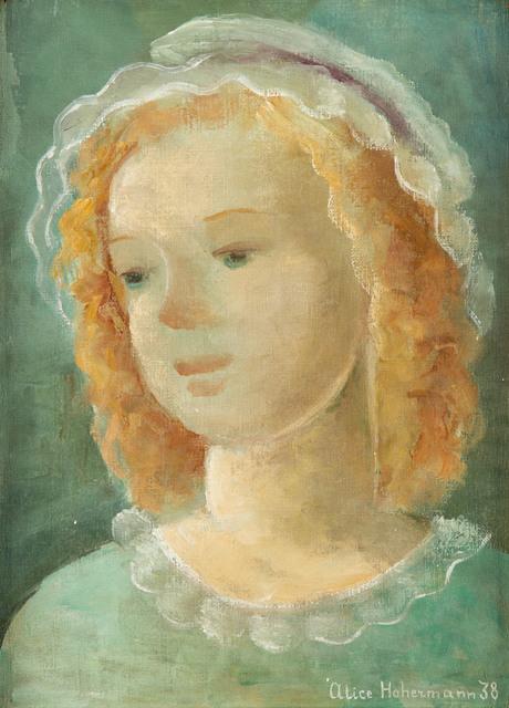 Portret dziewczynki, 1938