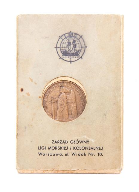 Medal Pamiątkowy XV- lecia Odzyskania Morza, 1935
