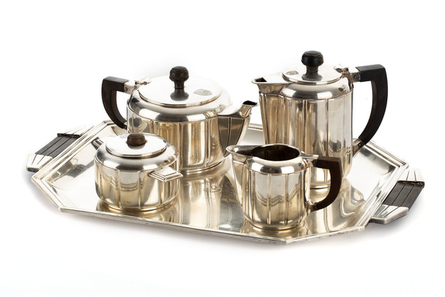Zestaw do kawy i herbaty, lata 20.-30. XX w.