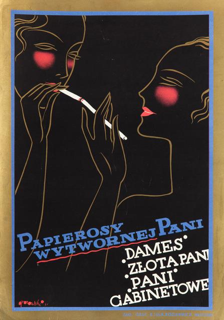 """""""Papierosy wytwornej Pani"""", 1931"""